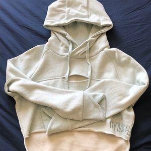 Cropped gymshark hoodie